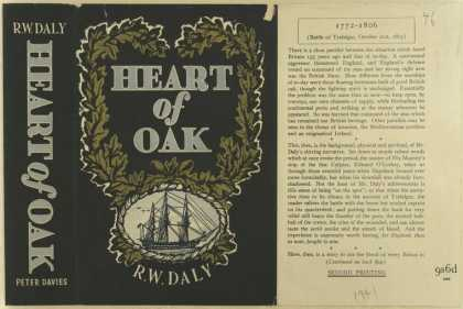 Dust Jackets - Heart of oak.