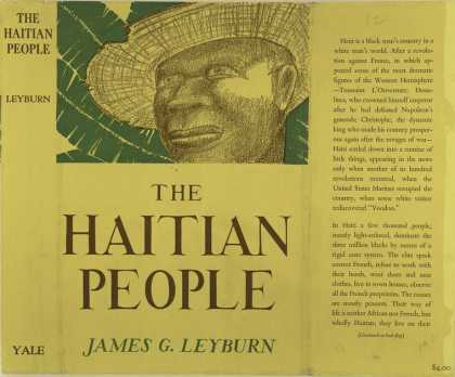 Dust Jackets - The Haitian people.