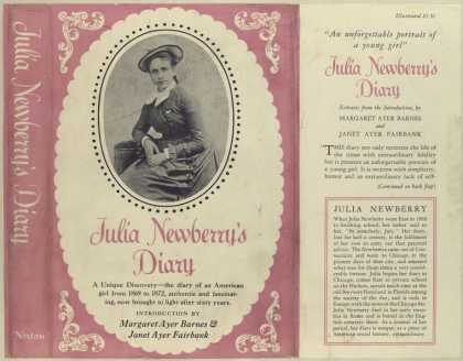 Dust Jackets - Julia Newberry's diary.