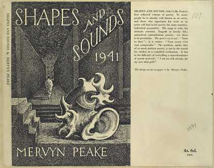 Dust Jackets - Shapes and sounds 1941.
