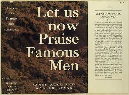 Dust Jackets - Let us now praise famous