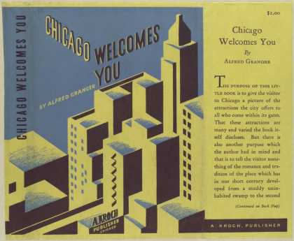 Dust Jackets - Chicago welcomes you.