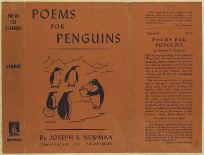 Dust Jackets - Poems for penguins.