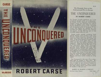 Dust Jackets - The unconquered.