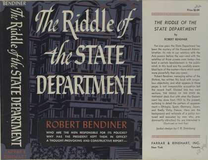 Dust Jackets - The riddle of the State d