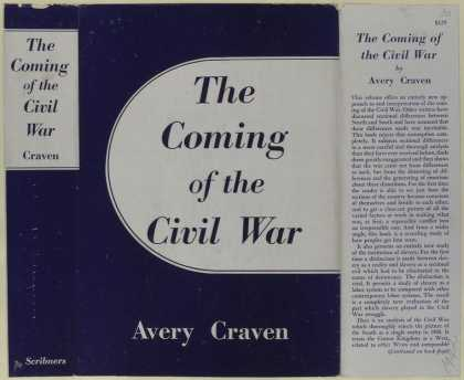 Dust Jackets - The coming of the Civil W
