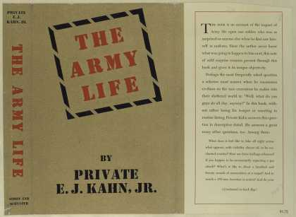 Dust Jackets - The army life.