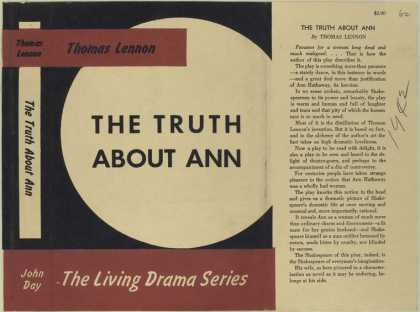 Dust Jackets - The truth about Ann.