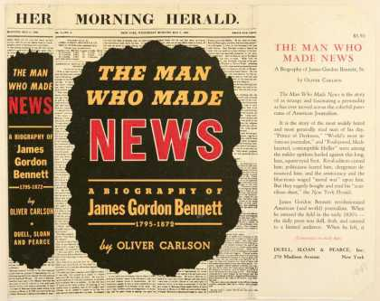 Dust Jackets - The man who made news: a