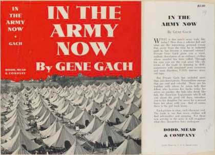 Dust Jackets - In the army now.