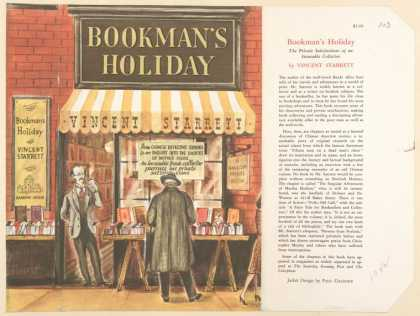 Dust Jackets - Bookman's holiday.