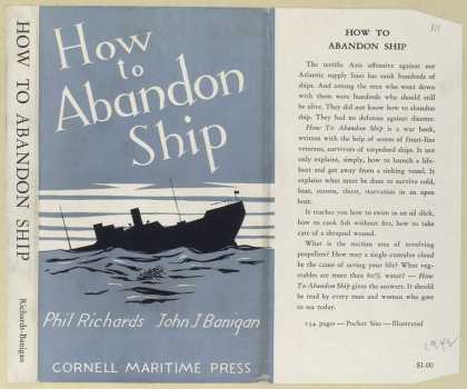 Dust Jackets - How to abandon ship.