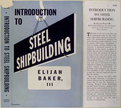 Dust Jackets - Introduction to steel shi