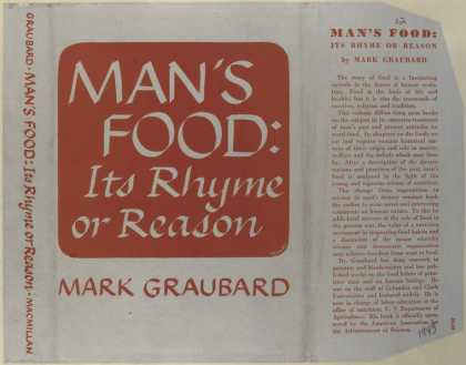 Dust Jackets - Man's food, its rhyme or
