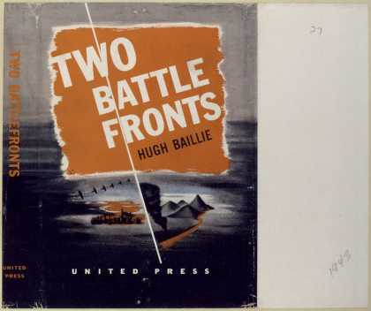 Dust Jackets - Two battlefronts.