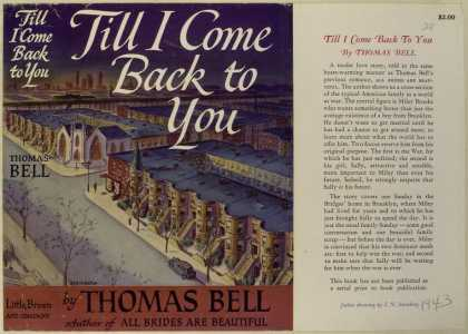 Dust Jackets - Till I come back to you.