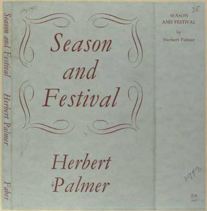 Dust Jackets - Season and festival.