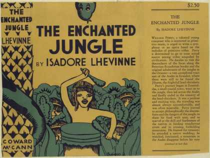 Dust Jackets - The enchanted jungle.