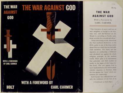 Dust Jackets - The war against God.