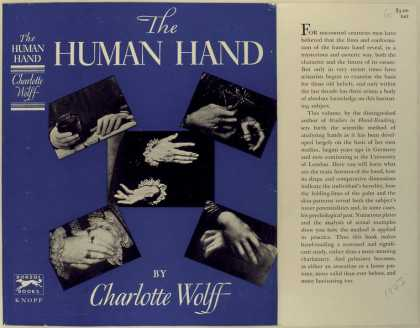 Dust Jackets - The human hand.