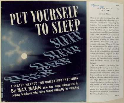 Dust Jackets - Put yourself to sleep.