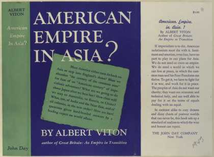Dust Jackets - American empire in Asia?