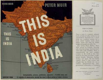 Dust Jackets - This is India.