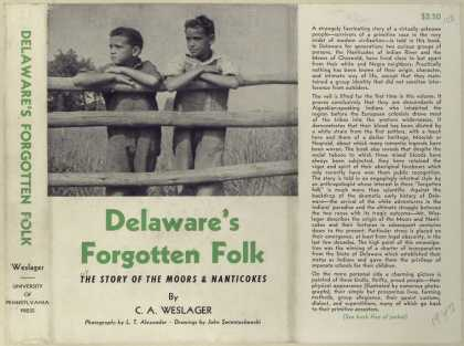 Dust Jackets - Delaware's forgotten folk