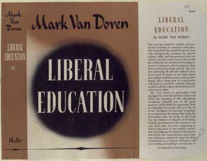 Dust Jackets - Liberal education.