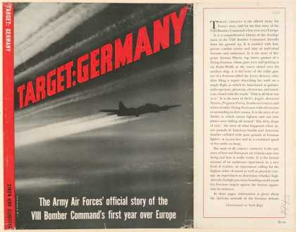 Dust Jackets - Target: Germany the Army