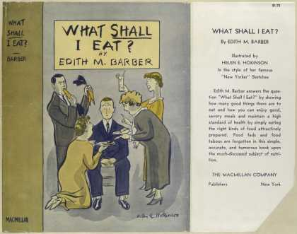 Dust Jackets - What shall I eat?