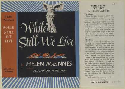 Dust Jackets - While still we live.
