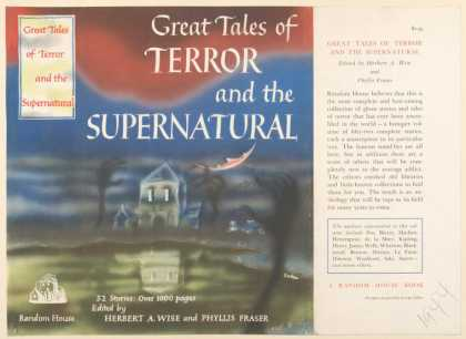 Dust Jackets - Great tales of terror and
