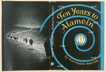 Dust Jackets - Ten years to Alamein.