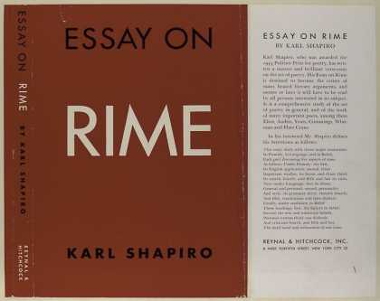 Dust Jackets - Essay on rime.