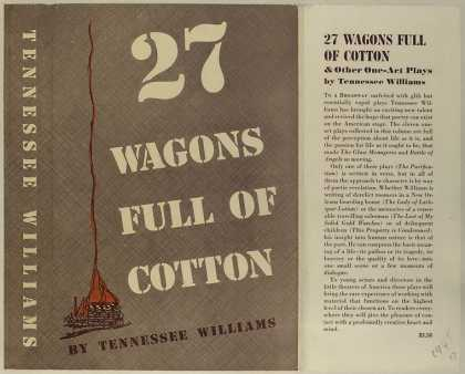 Dust Jackets - 27 wagons full of cotton,
