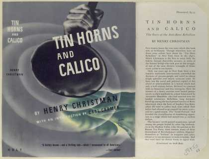 Dust Jackets - Tin horns and calico the