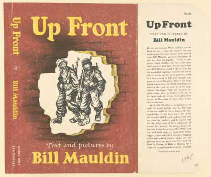 Dust Jackets - Up front text and pictur