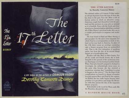 Dust Jackets - The 17th letter.