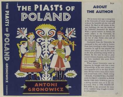 Dust Jackets - The Piasts of Poland.