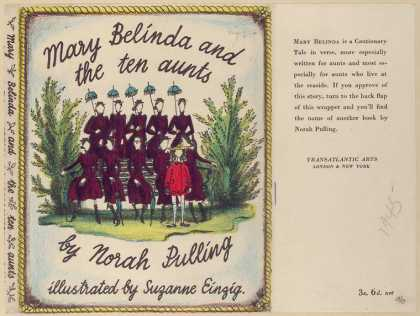 Dust Jackets - Mary Belinda and the ten