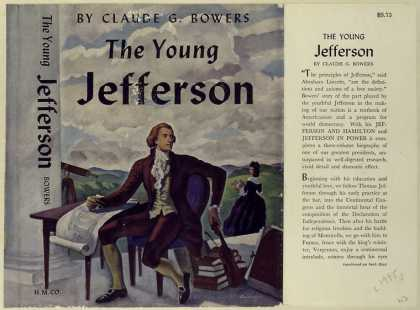 Dust Jackets - The young Jefferson.