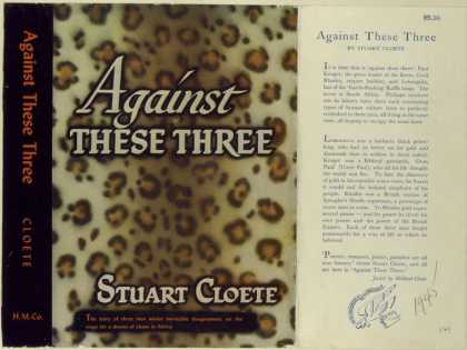 Dust Jackets - Against these three.