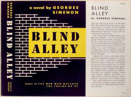 Dust Jackets - Blind Alley.