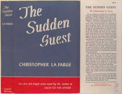 Dust Jackets - The Sudden Guest.
