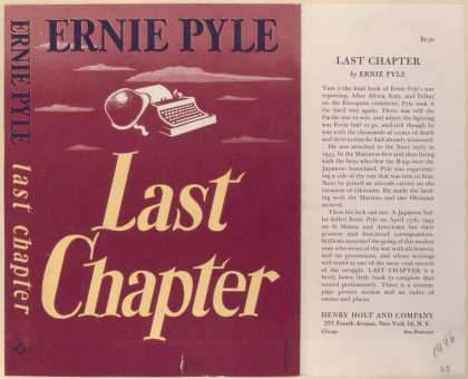 Dust Jackets - Last Chapter.