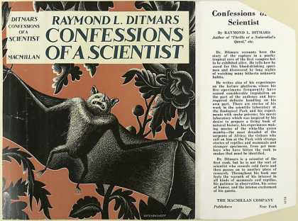 Dust Jackets - Confessions of a scientis