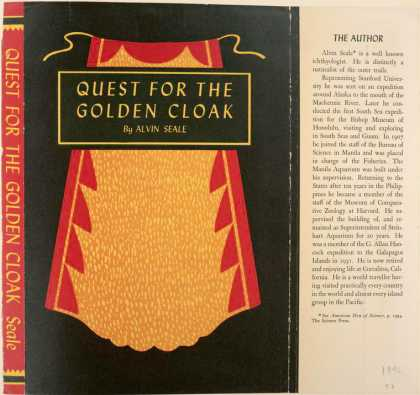 Dust Jackets - Quest for the golden cloa