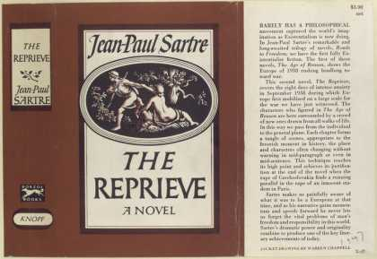 Dust Jackets - The Reprieve, by Jean - P