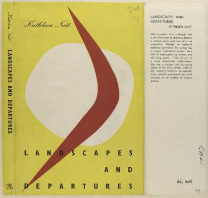 Dust Jackets - Landscapes and Departures
